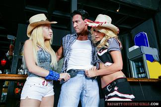 (WEST) Naughty Country Girls – Kagney Linn Karter Monique Alexander get fucked – REMASTERED